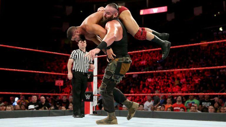 Braun Strowman's running powerslam has put down plenty of opponents
