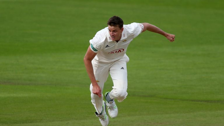 Morne Morkel in County Championship action for Surrey