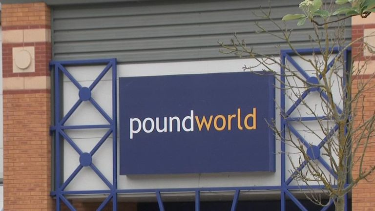 Poundworld, along with Toys R Us and Maplin, have all fallen into administration this year