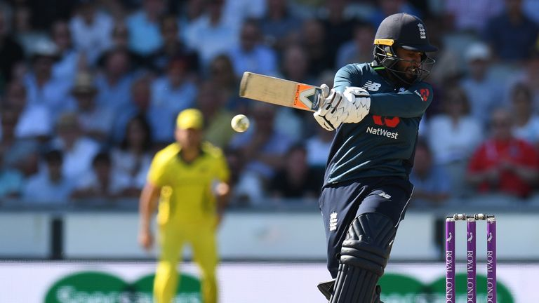 Rashid put on 81 with centurion Buttler for the ninth wicket as England reached their victory target of 206
