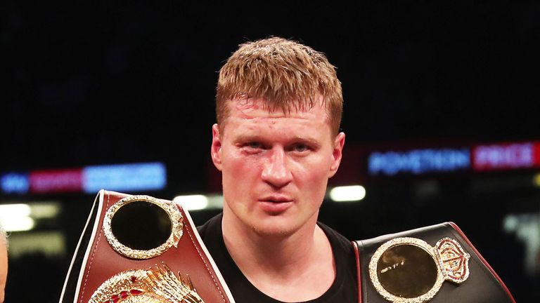 Alexander Povetkin is set to be confirmed as Joshua's opponent
