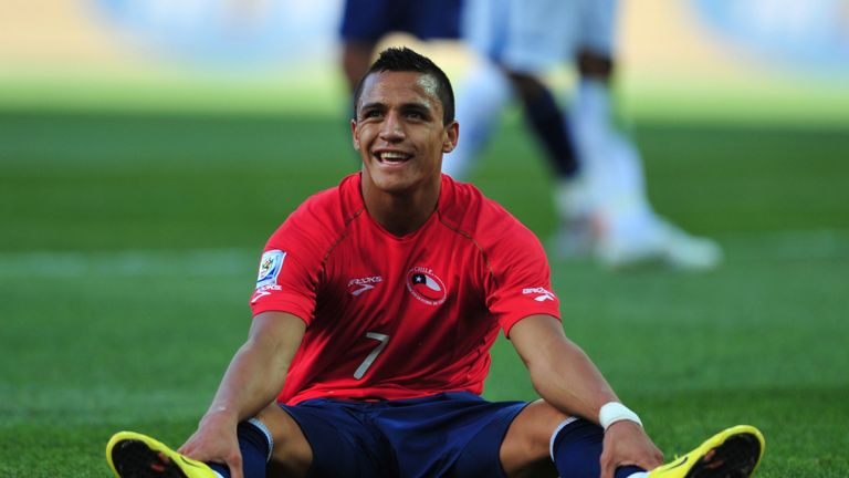 Alexis Sanchez was part of Bielsa's Chile squad at the 2010 World Cup