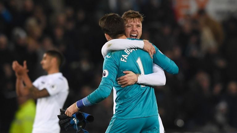 Alfie Mawson and Lukasz Fabianski are wanted by West Ham