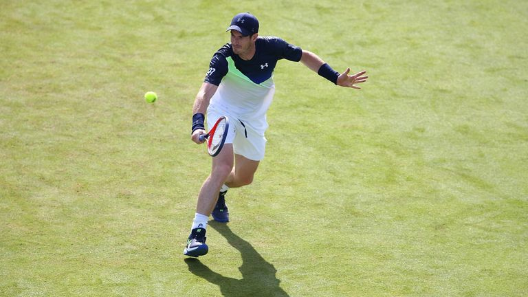 Murray looked solid and he moved well during the match