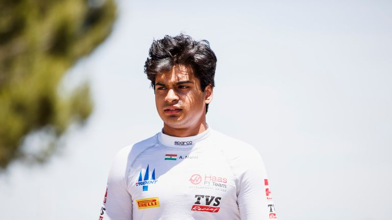Arjun Maini has explained his radio rant following the F2 Sprint Race in France