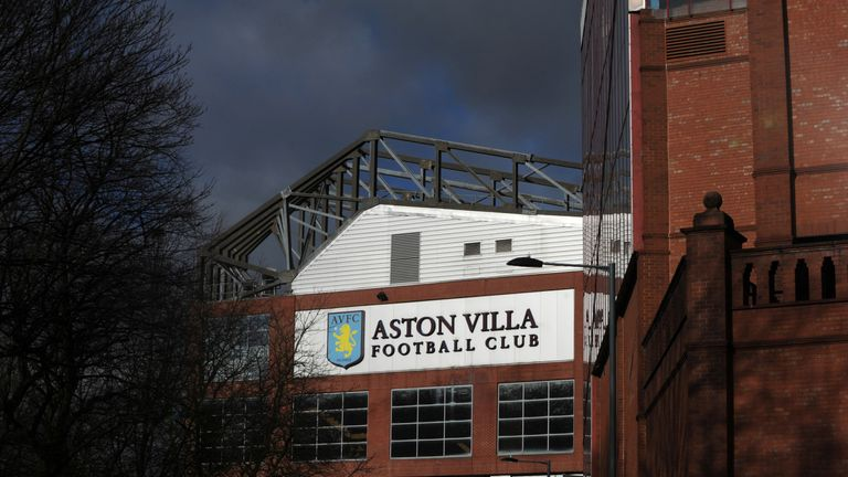 Aston Villa hope to name a new manager before October 20