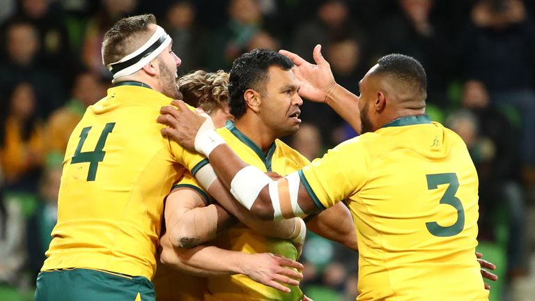 Australia made the perfect start, but were outplayed for the majority