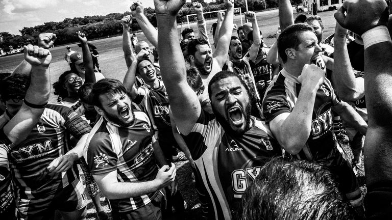 An exhibition of Bingham Cup photography called 'Rugby Is My Pride' is being held at this year's tournament in Amsterdam (photo by Giovanni Capriotti)