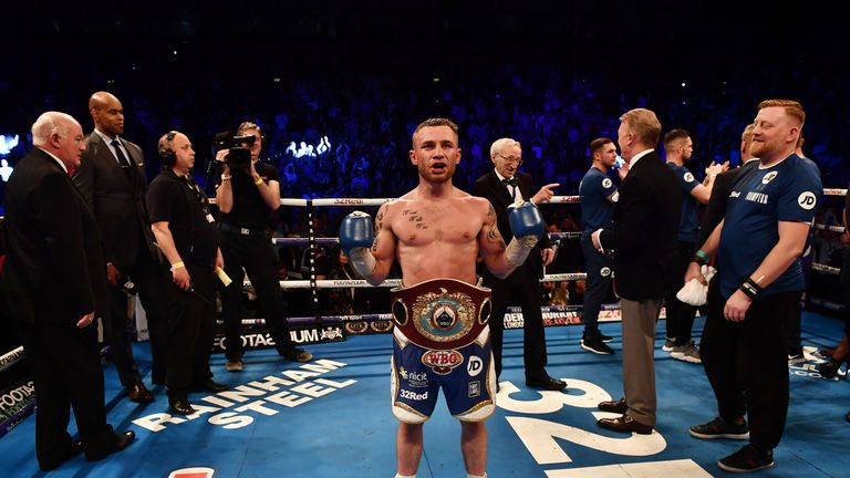 Frampton is looking to become a world champion again