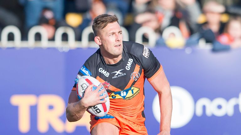Greg Eden's return from injury has been a major boost for Castleford