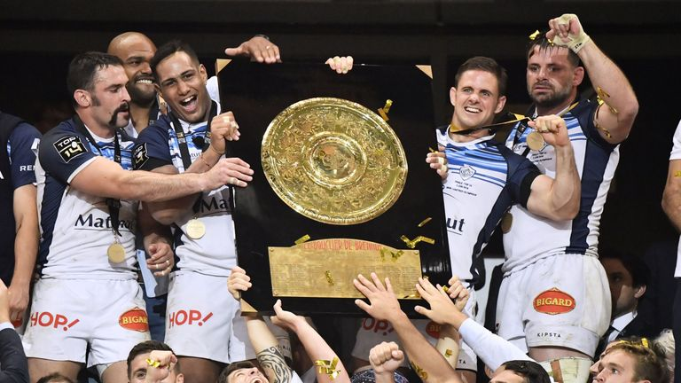Castres were crowned 2018 Top 14 champions after defeating Montpellier in the final