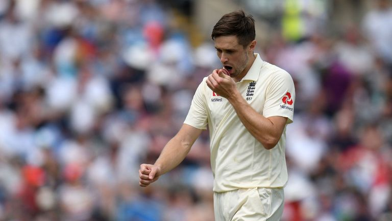 Chris Woakes injured his knee against Pakistan last month