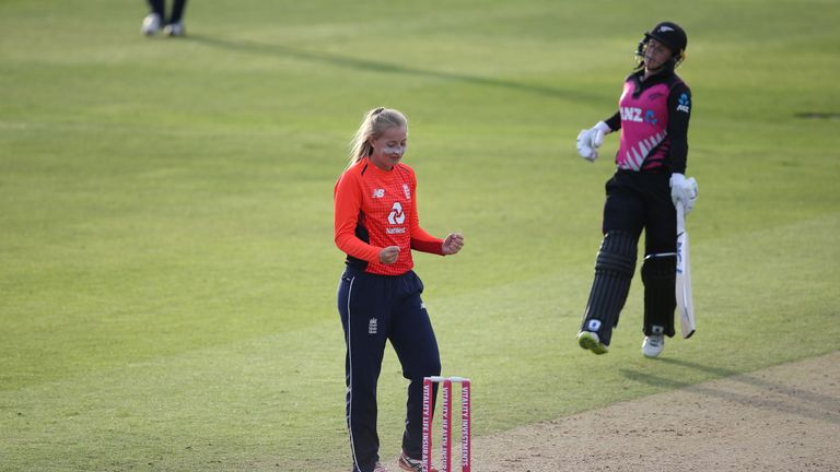 Sophie Ecclestone has emerged as England's premier spinner after impressing in India and throughout the summer