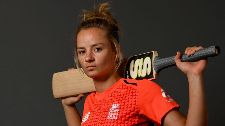 England Women's Danni Wyatt has her sights set on scoring more centuries