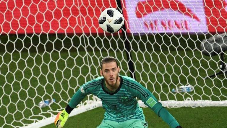 De Gea's recent performances have come under scrutiny