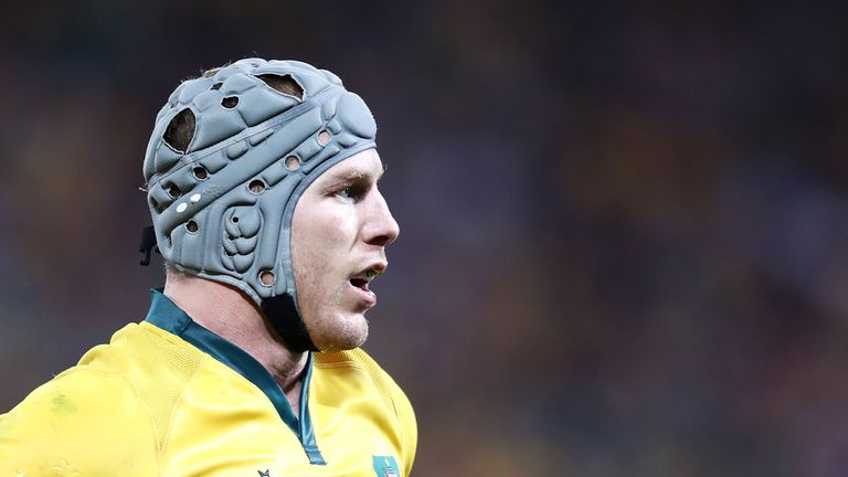 Pocock is hoping to play a key role for the Wallabies at the World Cup