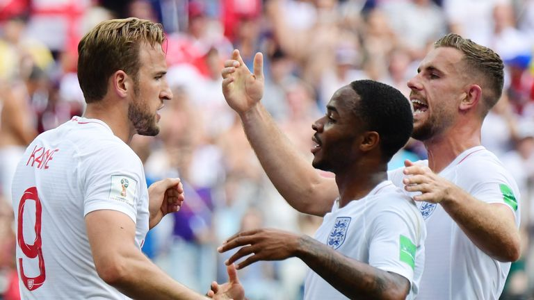 Harry Kane scored a hat-trick for England