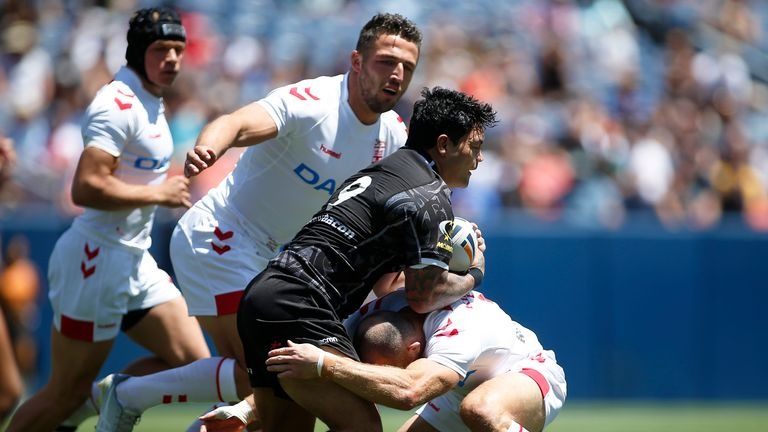 England came from behind to beat New Zealand in Denver