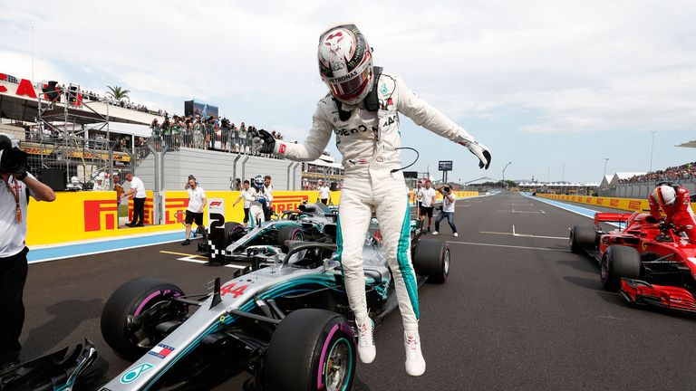 F1, Hamilton, wins pole, French GP