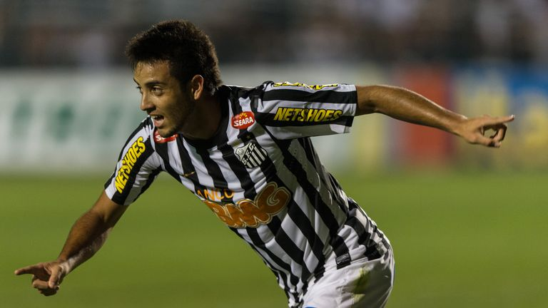 Anderson started his career with Santos