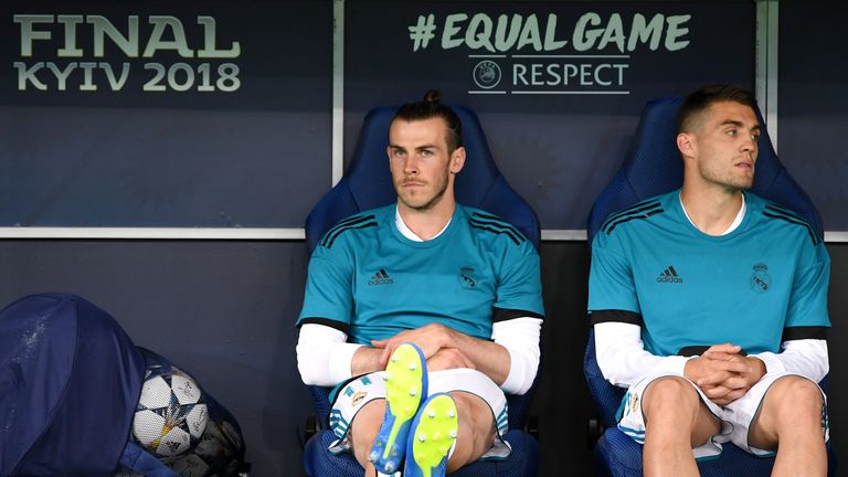 Bale spoke out about his frustration over a lack of playing time
