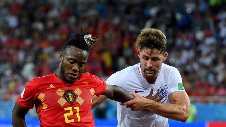 Gary Cahill was one of eight changes made by Southgate