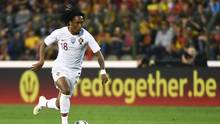 Gelson Martins has been linked with a move to Arsenal