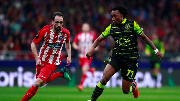Arsenal are among a number of clubs interested in Sporting's Gelson Martins