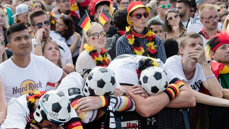 Holders Germany suffered a shock defeat to South Korea that saw them exit at the group stage