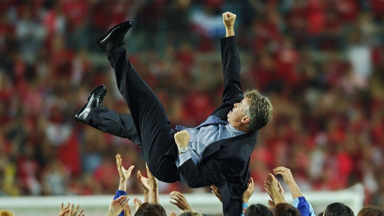 Guus Hiddink became a national hero