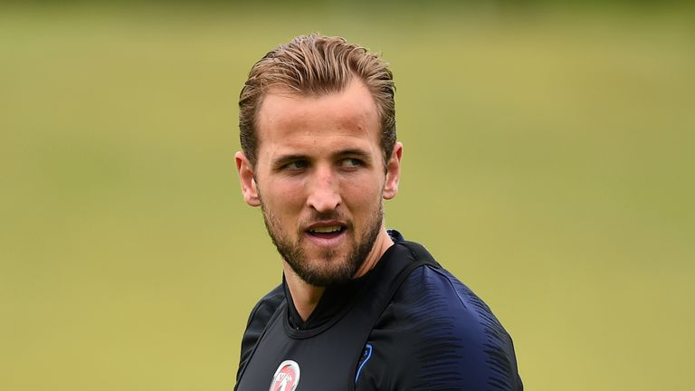 Harry Kane signed a six-year deal at Tottenham in June