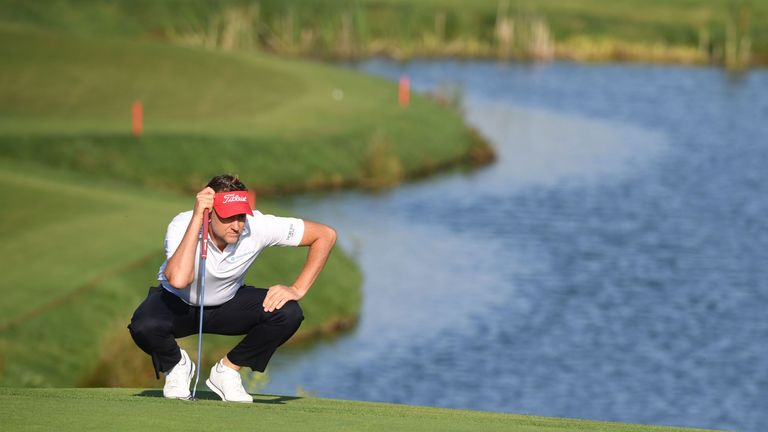 Poulter featured in the latest Hero Challenge event