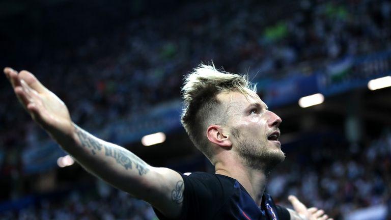 As well as Luka Modric, Barcelona's Ivan Rakitic has been a top performer for Croatia