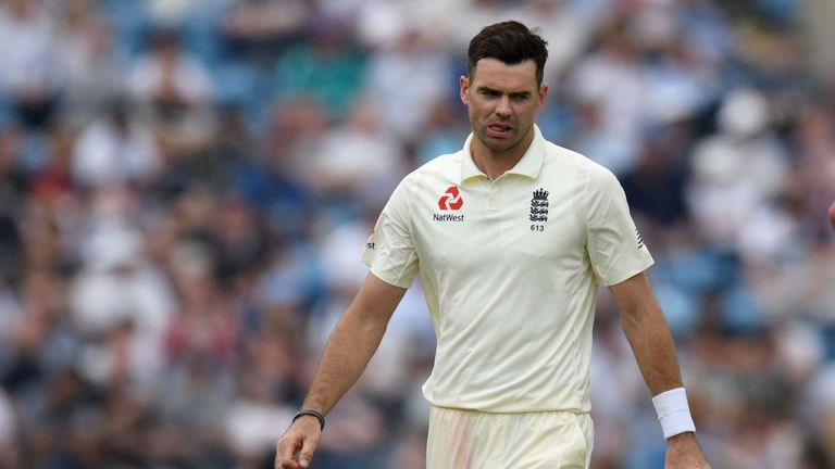 James Anderson is currently sidelined with a shoulder injury