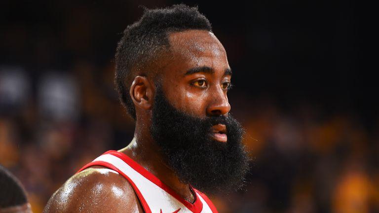 8e92239336c Houston Rockets  James Harden named NBA s Most Valuable Player ...