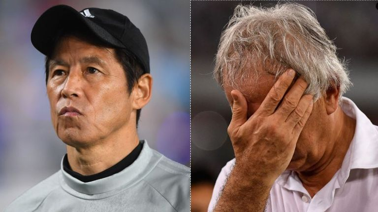 Japan have changed their coach on the eve of the World Cup - will they regret their decision?