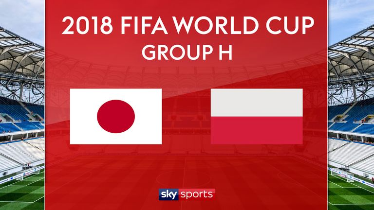 Japan and Poland meet at the Volgograd Arena on Thursday