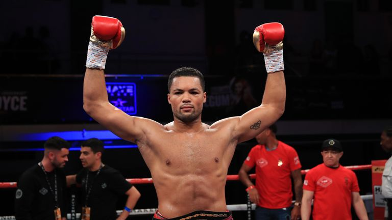Joe Joyce beat American Bryant Jennings to make it 10 wins from 10 fights