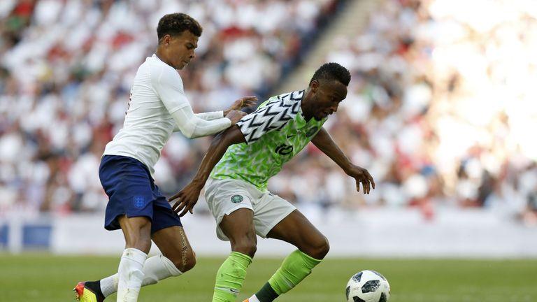 England beat Nigeria 2-1 on Saturday