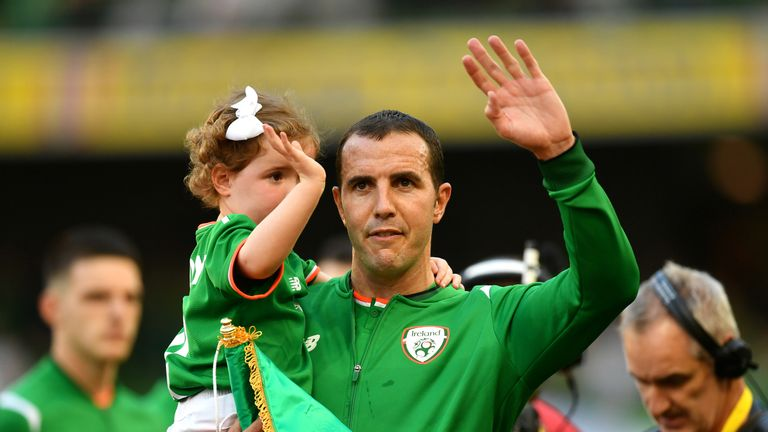 John O'Shea has backed Rice to one day captain the country