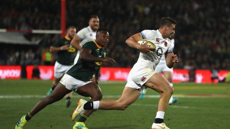 Jonny May caught the eye with his performance on Saturday