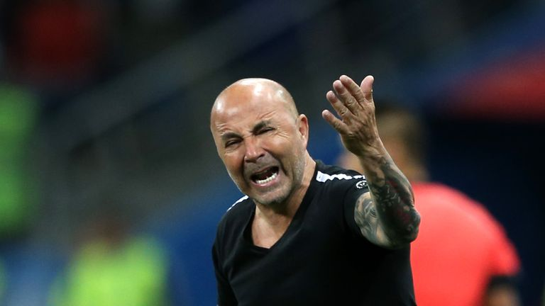 Jorge Sampaoli has come in for severe criticism following the 3-0 defeat to Croatia on Thursday