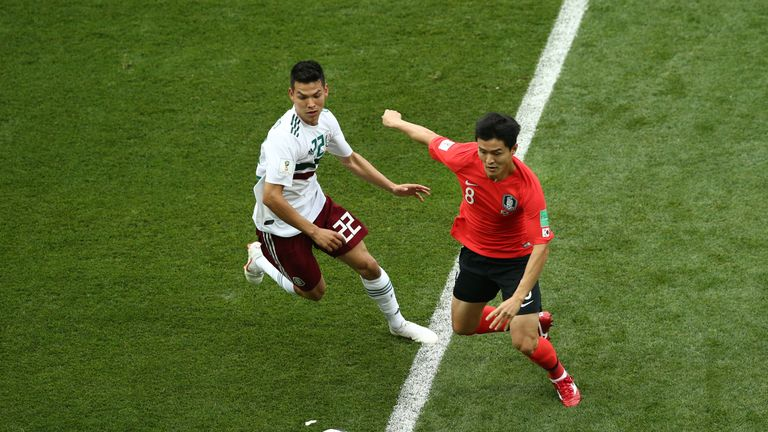 South Korea are yet to win a game at the 2018 World Cup