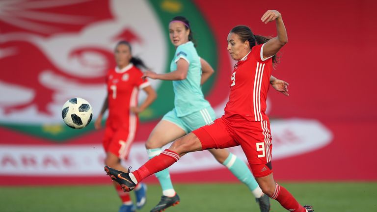 Kayleigh Green scored twice as Wales Women beat Russia Women in Newport