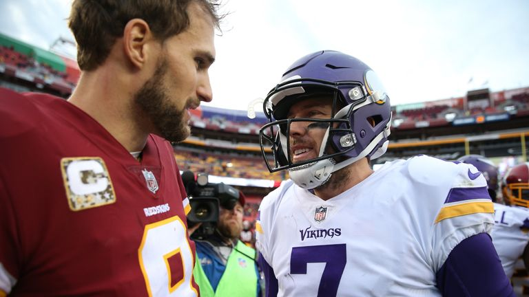 Kirk Cousins has replaced Case Keenum (who heads to Denver) as Vikings starter