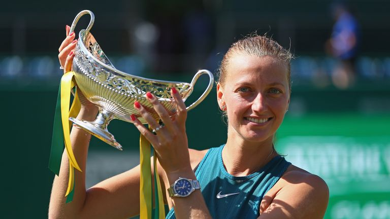 Petra Kvitova will bid to win a hat-trick of titles in Birmingham this summer | Tennis News |