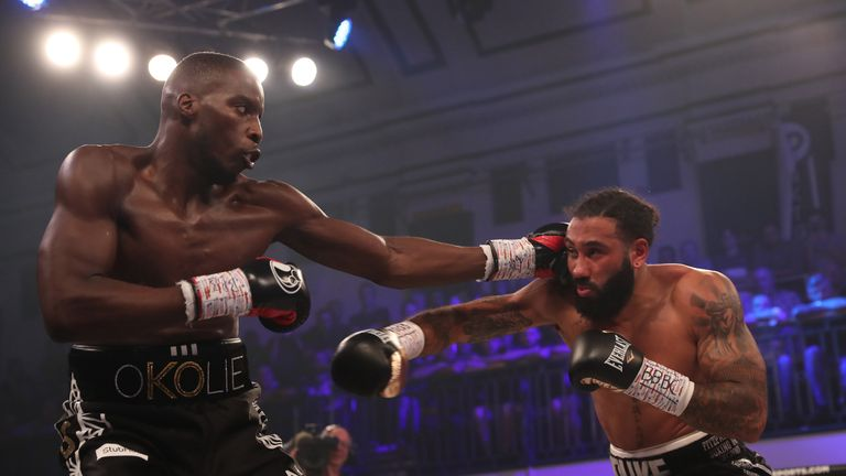 Okolie quickly found his range in the opening round