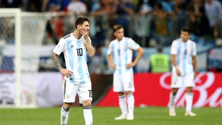 Argentina face Nigeria in a must-win match on Tuesday