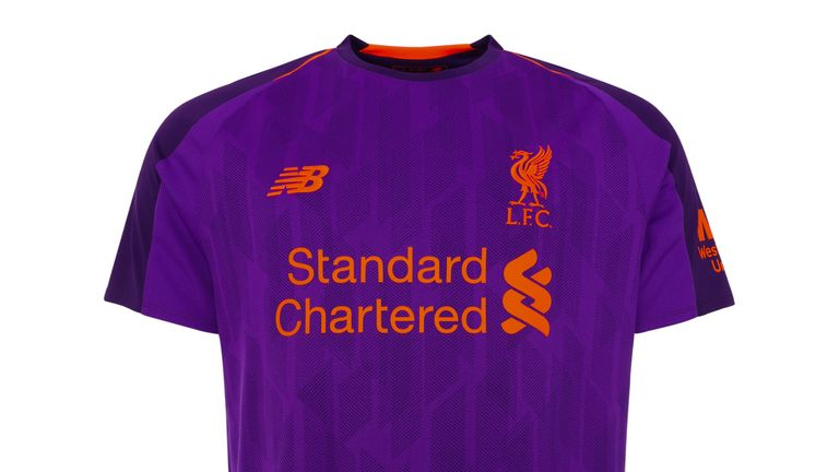 Liverpool's new away kit for next season