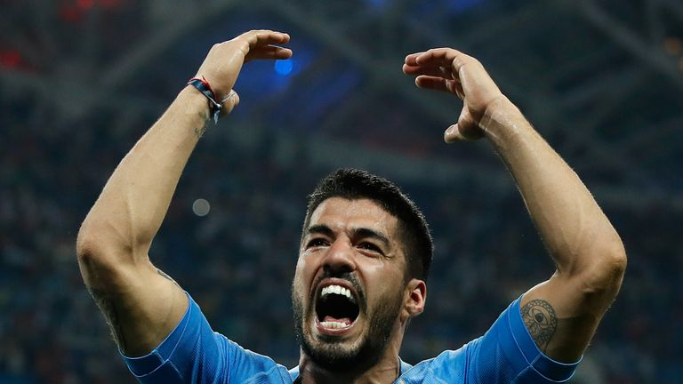 Luis Suarez put in a fine performance as Uruguay beat Portugal